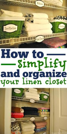 Sheet Storage Ideas Linen Closets
