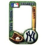 New York Yankees photo frame magnet