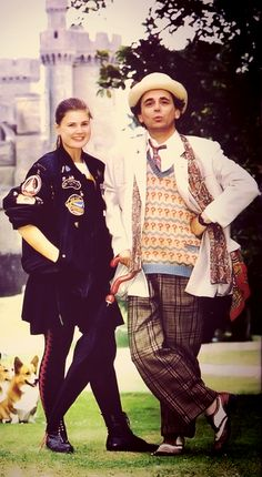 The 7th Doctor (Sylvester McCoy) and Ace (Sophie Aldred) - 1987 to 1989.