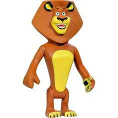 Boneco Bandeirante Madagascar 3 - Alex, diversão garantida com os personagens favoritos!