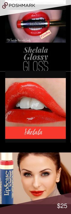 💄Shelala Bold Bright Red LipSense 👄 Lipstick 💄 One Tube, Brand New, Unopened and fast shipping!  I have Gloss available if you need it 💋 Makeup Lipstick