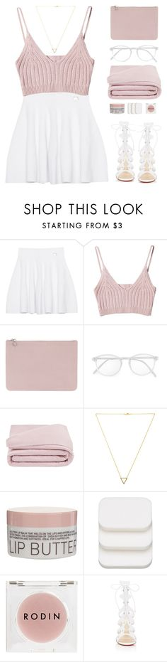 """""""Lace ups"""" by via-m ❤ liked on Polyvore featuring Kenzo, Alexander McQueen, RetroSuperFuture, Frette, Wanderlust + Co, Korres, COVERGIRL, Rodin Olio Lusso and Christian Louboutin"""