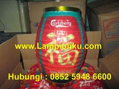 Project Lampion CARLSBERG. Pengrajin Lampion No.1 di INDONESIA. www.LampionKu.com