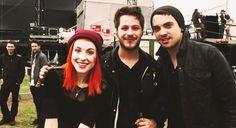 Paramore #paramore #music #band #poppunk #popular #sound #art #hayleywilliams #jeremydavis #tayloryork