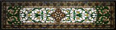 """45.5 Inch W X 10.5 Inch H Versaille Transom Stained Glass Window - 45.5 Inch W X 10.5 Inch H Versaille Transom Stained Glass Window Theme: VICTORIAN TIFFANY ARTS & CRAFTS ART GLASS Product Family: Versaille Transom Product Type: WINDOWS Product Application: Color: CUSTOM Bulb Type: Bulb Quantity: Bulb Wattage: Product Dimensions: 12.75""""H x 48""""WPackage Dimensions: NABoxed Weight: 7 lbsDim Weight: 115 lbsOversized Shipping Reference: NAIMPORTANT NOTE: Every Meyda Tiffany item is a unique…"""