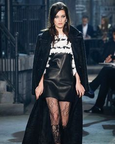 Pin for Later: This Is What Happens When Karl Lagerfeld Hosts a Chanel Runway Show in Rome Bella Hadid Made Her Chanel Runway Debut