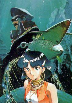 Nadia The Secret of Blue Water #anime #90s #art