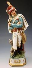 C1910 Porcelana de Capodimonte Di Pietro Figura Napoleão geral Eugene Com Escudo