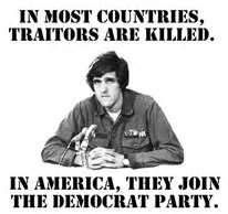 John Kerry - traitor to America.  Google him.  Obama's newest best friend for Sec. of State when Hillary resigns.