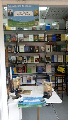 Dia de firmas en La Feria del Libro  2015  (caseta  224, librería Polifemo ).