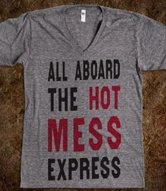This would make a perfect pajama shirt... Especially considering what I look like when I wake up in the morning
