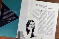 Erfolgreich Neues wagen: Porträt im Wiener Journal. Im Zuge meiner Tätigkeit für The bird's new nest durfte ich schon...