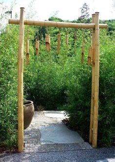 bambus garten selber machen wachsen topf schwarz | bambusgarten, Hause deko