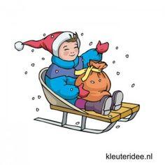Gymles voor kleuters thema winter 3, kleuteridee.nl