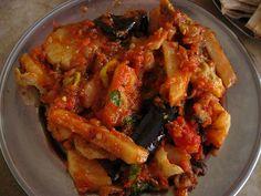 Fricase de pollo con berenjena - Comida cubana ⭐⭐