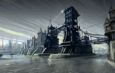 Dishonored Art & Pictures Dunwall Bridge