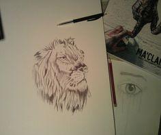 Lion - BIC pen [Hailong Li]