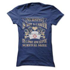 nurse T-Shirts, Hoodies. BUY IT NOW ==► https://www.sunfrog.com/Jobs/nurse-26284016-Ladies.html?id=41382