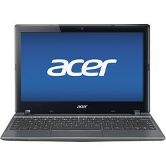 "Acer - 11.6"" Chromebook - 2GB Memory - 320GB Hard Drive - Iron Gray"
