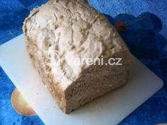 Opravdu vláčný chléb z domácí pekárny. Graham, Banana Bread, Dairy, Cheese, Food, Breads, Bread Rolls, Bread, Meals