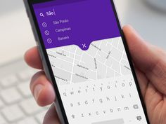 App Recent Search - Map by Claudia Mardegan