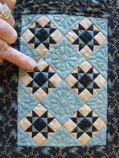 Sue Garman: Seminars and All Kinds of Quilts | Miniature Quilts ... : kinds of quilting - Adamdwight.com