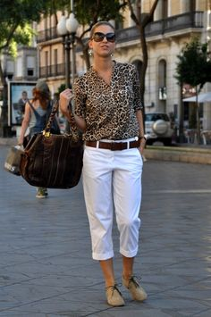 Tired to wear heels… , Zara in Shirt / Blouses, Theory in Pants, Chloe in Bags, TAPEET in Flats 60 Fashion, Over 50 Womens Fashion, Fashion Over 50, Fashion Outfits, Mode Outfits, Capsule Outfits, Casual Summer Outfits, Stylish Outfits, Mode Ab 50