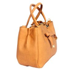Craftstages ocher yellow bag