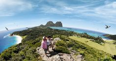 Lord Howe Island is a World Heritage-listed paradise where at any time you'll be one of only 400 visitors. A holiday on this exquisite subtropical island is relaxing and unhurried; getting around by bike or on foot is the way to go and there are plenty of activities to discover. Explore its pristine beaches, lagoons, coral reefs and rainforest areas to discover a world of immense natural beauty. @nswtips #ArrivalGuides #travel #Australia #LordHoweIsland