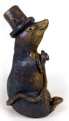 Rat in a Top Hat by Tracy Wright