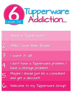 Tupperware Addiction