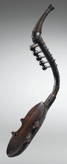 Harpe anthropomorphe, Zande, République Centrafricaine   Lot   Sotheby's