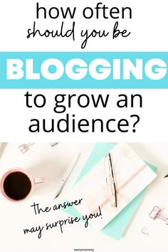 Learn how often you should blog to see results. Get a content schedule ideas for your blog plan. Blog Planning, Online Business, Business Tips, All Family, Blogger Tips, Blog Writing, Blogging For Beginners, Make Money Blogging, Social Media Tips