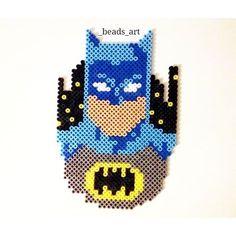 Batman perler beads by  _beads_art