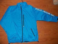 Ralph Lauren Polo Jeans Co Men's Outerwear Jacket XL Blue puffy Windbreaker ski #PoloJeansCo #BasicJacketOuterwear