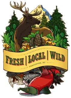 Fresh Local Wild (Food Cart, W Hastings & Burrard) Downtown Vancouver, Seattle, Lunch Places, Grillin And Chillin, Best Places To Eat, Menu Restaurant, Canada Travel, Food Truck, My Favorite Food