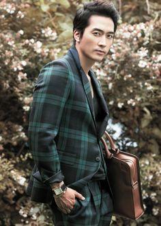 Song Seung Hun - High Cut Magazine Vol.110