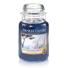 YANKEE CANDLE ~ MEDITERRANEAN BREEZE ~*~