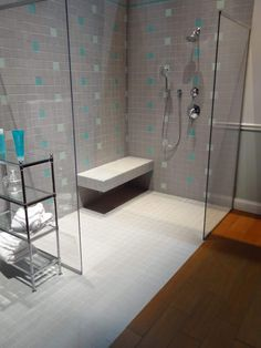 Walk In Bathroom Shower With Seat