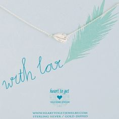 Heart to get N43FEA12S With love ketting zilver