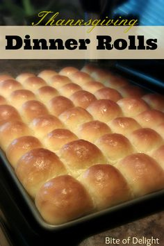 Thanksgiving Dinner Rolls on MyRecipeMagic.com will feed a crowd and taste amazing! #dinner #rolls #thanksgiving #holiday