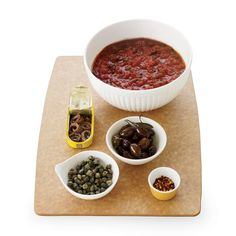 Puttanesca sauce comes together easily with a few pantry ingredients like anchovies, olives and capers, which all add robust flavor to the pasta.
