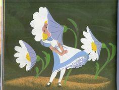Walt Disney - Alice in Wonderland - Mary Blair - Concept Art Mary Blair, Disney Love, Walt Disney, Posca Art, Disney Artists, Disney Concept Art, Guache, Adventures In Wonderland, Book Illustration