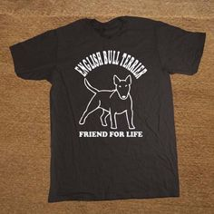 6e07c3a3 Designer Shirts O-Neck English Bull Terrier Dog Lover Pet Gift Present Size  Men Short Sleeve Short T Shirts