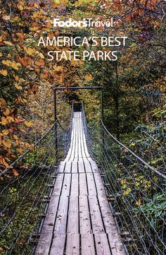 Every year, our nation's nearly 8,000 state parks see more than 720 million visitors. Here are 10 you may not know about—but should. #familyvacation #outdoor #parks