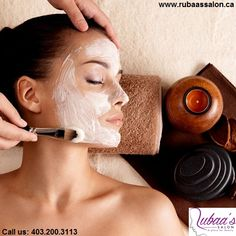 Check out our skin care and facial service section and judge why people say Rubaa's Salon is the best in Calgary.  #Skincare #Facial #Skincareservice