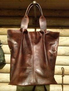 borsa in pelle di vitello colorato a mano  di LaSellerieLimited, $210,00