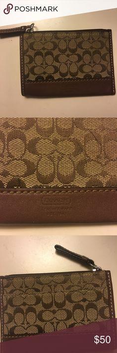 Coach Coin Purse Brown Coach coin purse in perfect condition. Coach Accessories