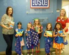 Girl Scouts in action! Troop #1259 recently supported our military troops by delivering Girl Scout cookies to the Fort Bragg USO. What a great way to give a comforting taste of home to those who serve and protect our country. Great job, ladies!