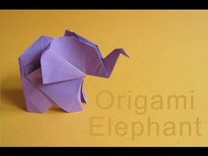 Origami Bat tutorial part1 - YouTube